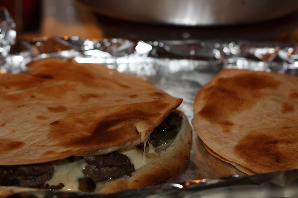 Beef Quesadillas