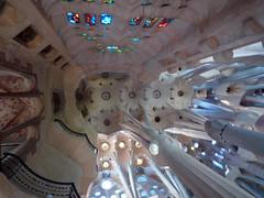 Antoni Gaudí, Sagrada Familia, Aisle Vaulting