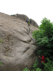 My first free solo (Gogolcat) Tags: india climbing ramanagaram