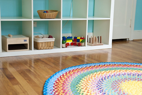finn and lachlan's studio - toy storage