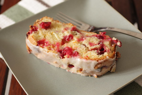 orange cranberry pound cake