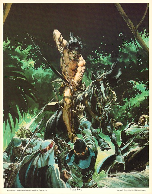 Neal Adams 1978 Portfolio Tarzan 3