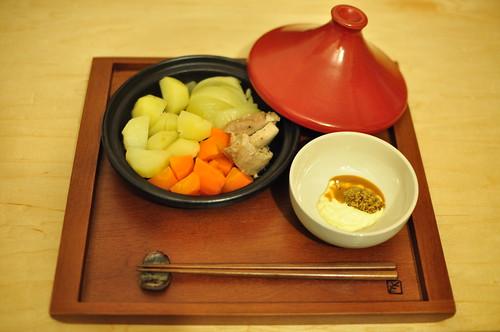 初タジン鍋