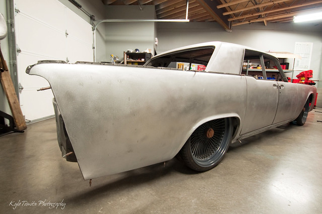 PSI's 64 Continental Project - raw metal
