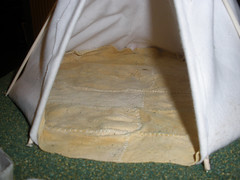 Tipi project - the floor