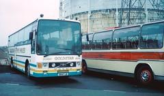 Gold Star, St Asaph 984 FJB Volvo B10M Van Hool (miledorcha) Tags: bus wales volvo coach tours rhyl coaches goldstar excursion psv pcv vanhool vh northwales alizee daytripper voel stasaph b10m b10m61 empiregoldstar 601mma 984fjb