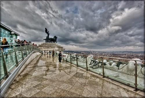 La terrazza del Vittoriano (o delle quadrighe) - a photo on Flickriver