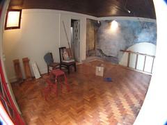 O antes: sala principal