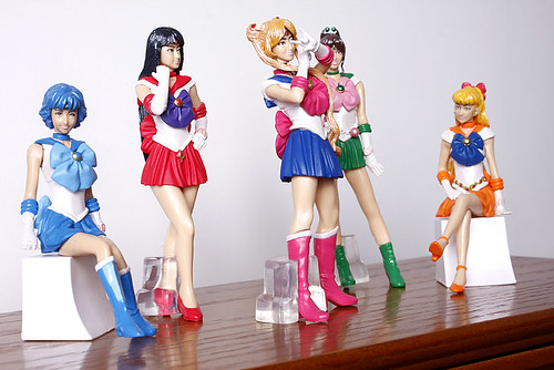 Live Action Sailor Moon Figures