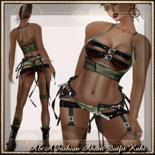 A&A Fashion Ahunt Outfit Kaki