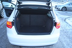 Audi A3 1.6TDI bagageutrymme