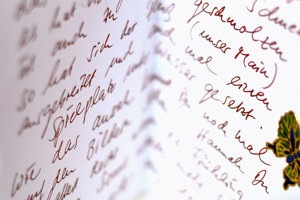 Write more Letters by Markus Reinhardt, on Flickr