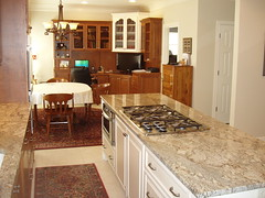 Roseys kitchen island