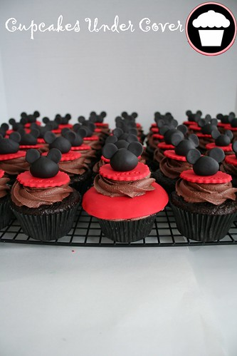 Mickey Mouse cuppies