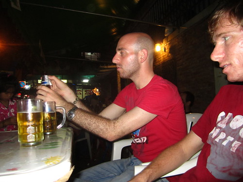 Drinking at Gecko Bar, Soi Rambuttri