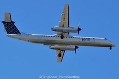 DSC_0451_769 (thokaty) Tags: porterairlines cflqy turboprop ytz dash8 dash8400 bombardier dhc8402 kbos bostonloganairport eis2010