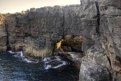 Boca do Inferno (Tony Shertila) Tags: cascais geo:lat=3869062658 geo:lon=943067103 geotagged lisboa portugal prt santamarta europe outdoor weather day clear sky bocadoinferno coast atlantic ocean sea water rocks cliff hellsmouth
