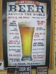 Beer around the world poster (D70) Tags: beer around world poster inside princeton brewing ubrew bc canada