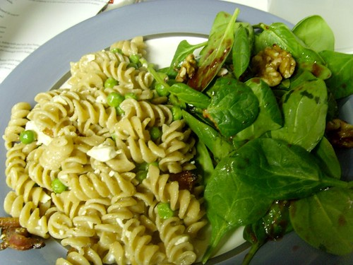 Five-Minute Spinach Salad with Cherry Vinaigrette