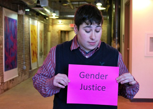 Pen Bruskin is fighting for gender justice