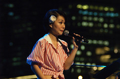 ... and suddenly, my lips are sealed (tomzcafe) Tags: singapore esplanade magicalmoments jupiter37a13535
