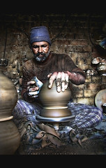 Transformation (Tanwir Jogi) Tags: travel pakistan beautiful trekking trek transformation mud potter pot clay traveling tours making lahore claypots treks jogi beautifulpakistan trekkinginpakistan potmaker tanwir travelinginpakistan trekkerz thetrekkerz tourisminpakistan tanwirjogi