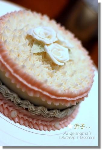 天使媽媽蛋糕皂教學沂子2