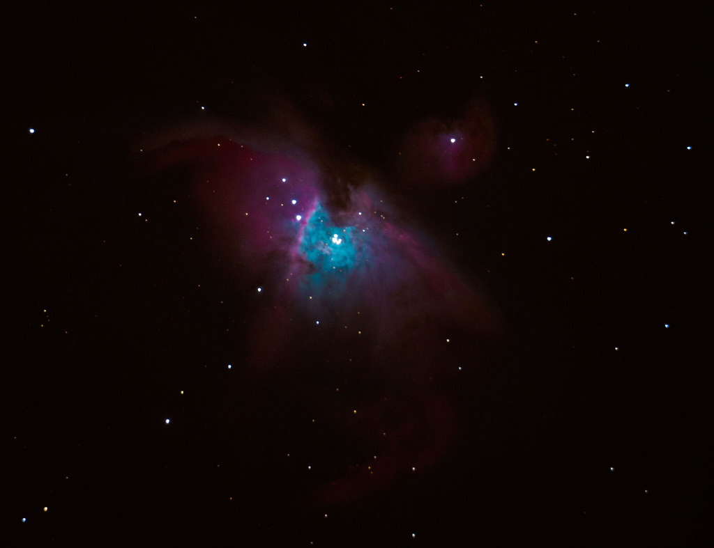 Great Orion Nebula M42 - Cropped Version