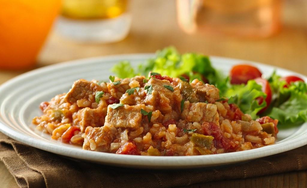 Spanish Pork and Rice Recipe