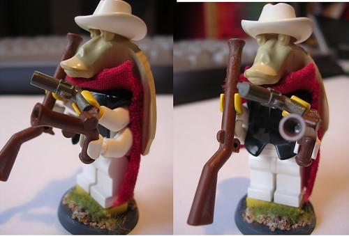 Custom minifig GUNgan custom minifigure