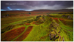 The Fairy Glen (Dylan Toh) Tags: autumn colour green grass stone river landscape photography scotland waterfall isleofskye path hills dee uig rolling fairyglen everlook