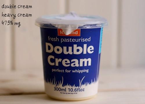 Double cream