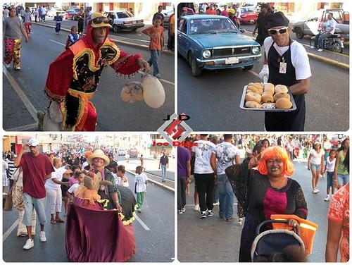 Primer Domingo de Carnaval de Santiago 2011