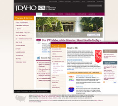 Site Redesign - Idaho Commission for Libraries (ben.bibikov) Tags: for libraries webdesign idaho commission idahostate icfl icflsite librariesidahogov