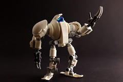 Q-Type Heavy operations Robot (Bad Brick) Tags: robot aperture lego science