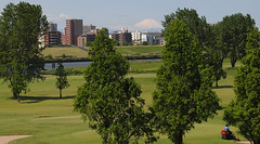 Fujisan from Kawaguchi Public Golf Course (Mule67) Tags: japan golf tokyo nikon fuji course saitama kawaguchi arakawa d5000