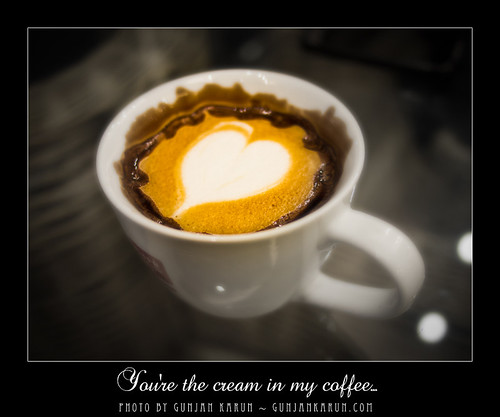 14 Days to Valentine: Day 5 - You're the cream in my coffee