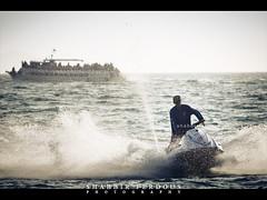 Jet Ski (Shabbir Ferdous) Tags: sea sky people cloud color colour landscape thailand boat photographer action bue jetski pattaya bangladeshi travelphoto ef70200mmf28lisusm banglamung shabbirferdous canoneos1dmarkiv wwwshabbirferdouscom shabbirferdouscom