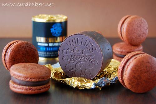 Macarons Au Chocolat Amer