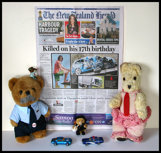 "Teds NZ Herald News Report - ""Killed on his 17th Birthday"""