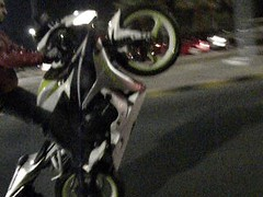 Wheelie 600rr ... () Tags: road street pink love bike honda mall nikon police 360 off starbucks kuwait perry bikers wheelie aziz q8 avenues  600rr yoshimura       l100   gulfrun     azizcesc