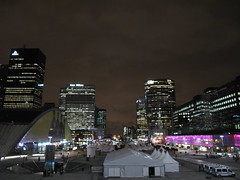La Défense (SamwiseGamgee69) Tags: paris france night noche francia ladéfense parís défense