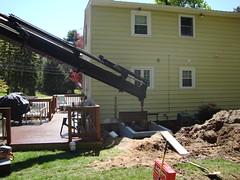 Hanging bulkhead