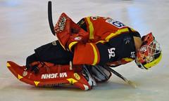 Meudon (schumitheboss) Tags: hockey plaque sur crosse maillot glace casque patins gardien meudon mitaine etirement jambière