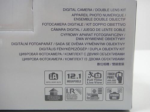 盒子旁邊的規格表