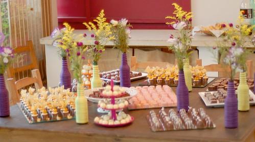 Mesa de doces - Curso de chocolate Simone Izumi