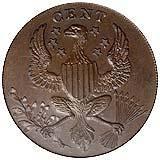 Washington Roman Head Cent reverse