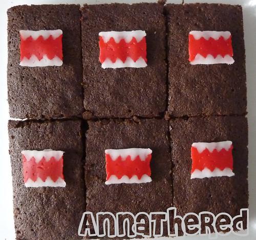 Non-bento #30: Domo-kun brownies