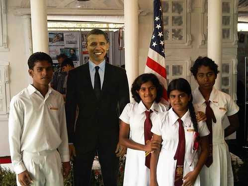 "The United States Embassy in Colombo hosted a booth at the ""Deyata Kirula"""