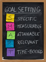 smart goal setting concept (Mary K Kneiser) Tags: white black smart vertical handwriting paper chalk goal colorful smudge nobody resolution chalkboard setting blackboard strategy crumpled stickynote specific relevant measurable attainable marykneiser timebound marykkneiser